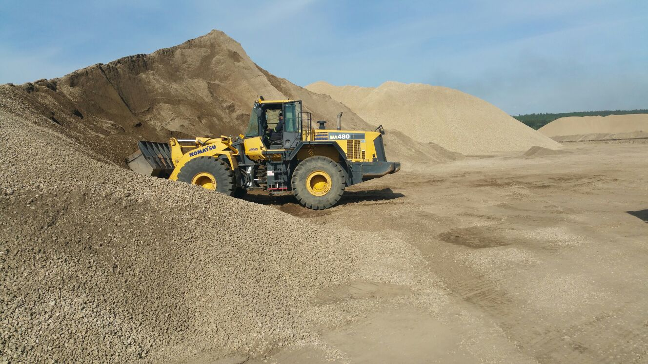 Gravel hauling services