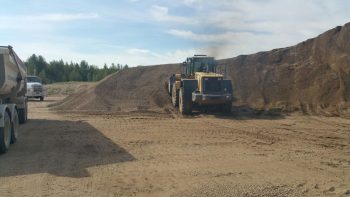 Gravel Loading Services Edmonton