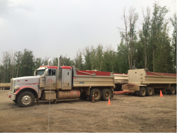 Aggregate Hauling Services